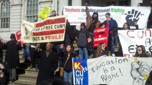 Protesta por atropellos en la educación pública