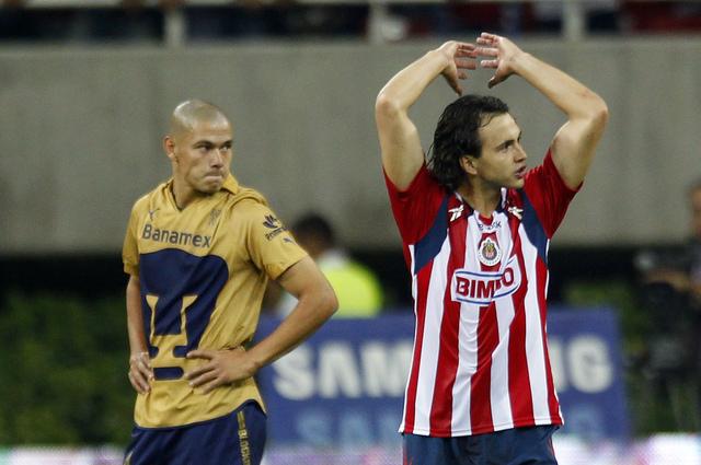 Omar Arellano, delantero de Chivas.