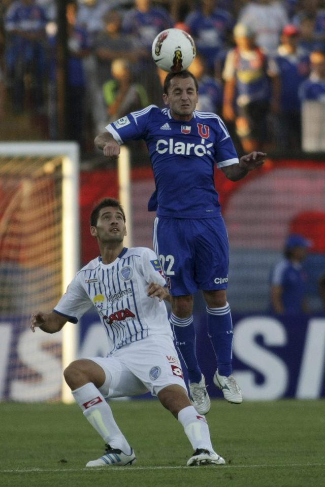 Fulminante 5-1 de la U de Chile ante Godoy Cruz