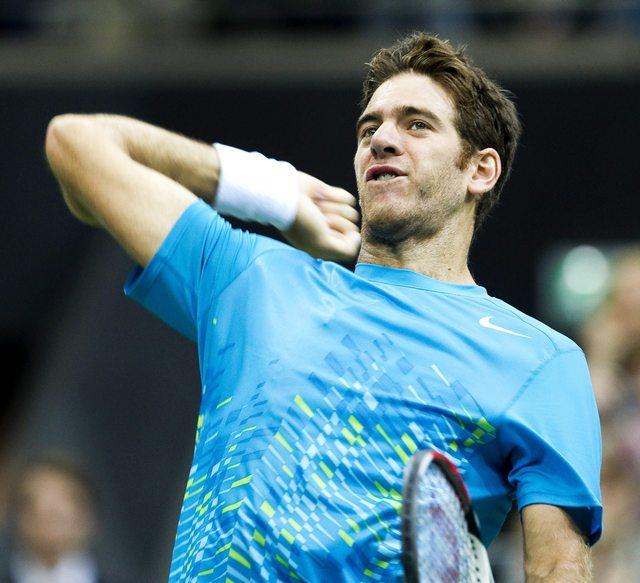 El tenista argentino Juan Martín del Potro se planta en cuartos de final del torneo de Marsella.