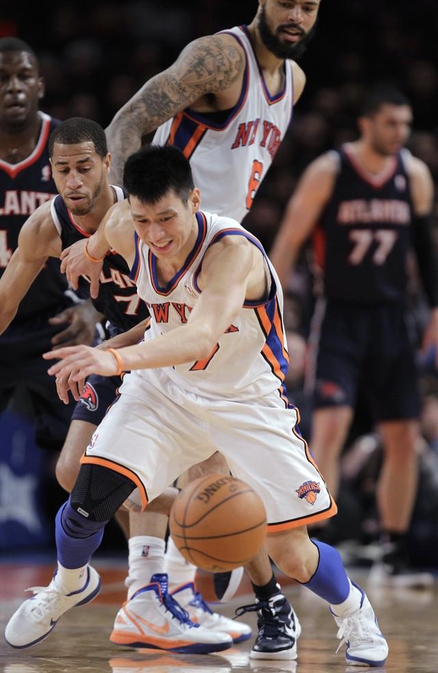 Jeremy Lin, la nueva sensación de la NBA con los Knicks de Nueva York.