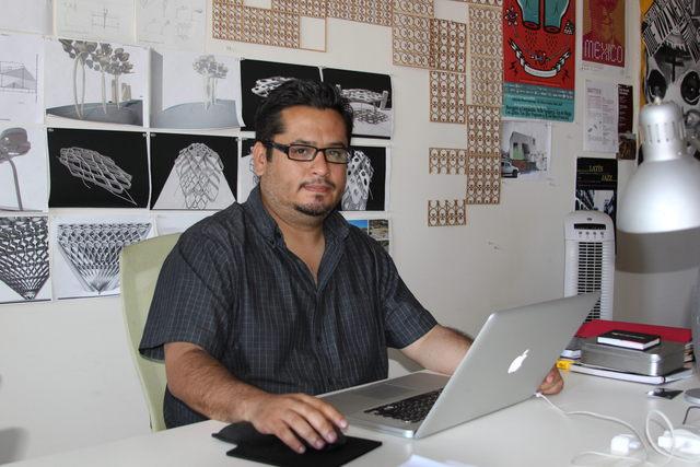 El arquitecto René Peralta colaboró en el diseño del Museo Getty en Los Angeles.