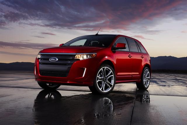 Ford Edge 2012 llega renovado