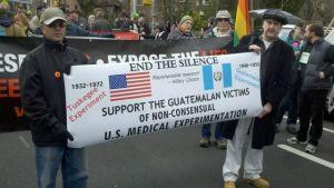 Marchan por víctimas de Guatemala