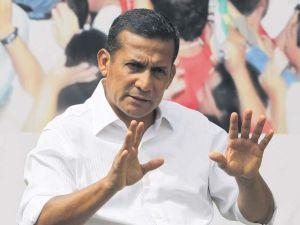 Humala quiere impulsar la economía peruana