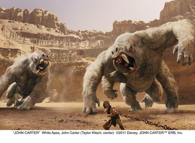 Crítica 'John Carter': John, quédate en Marte