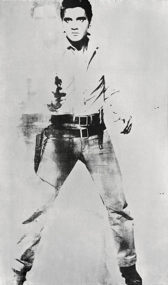 Retrato de Elvis firmado por Warhol estrella de subasta