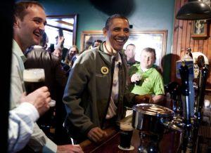 Obama celebra el Día de San Patricio