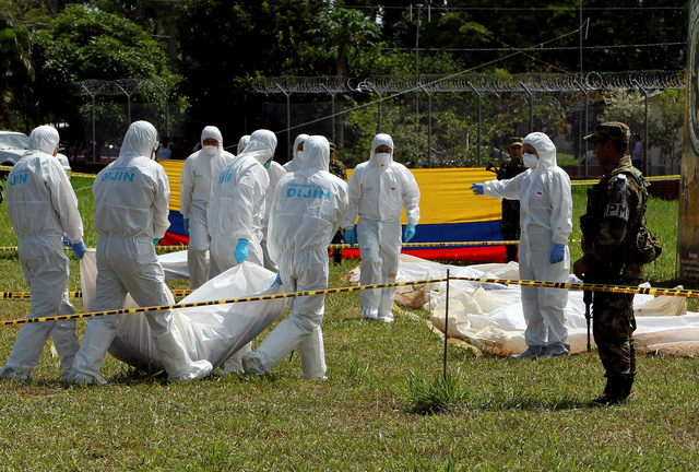 Bloque FARC reducido  a mínima expresión