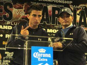 Boxeo: El 'Terrible' Morales presenta a su heredero