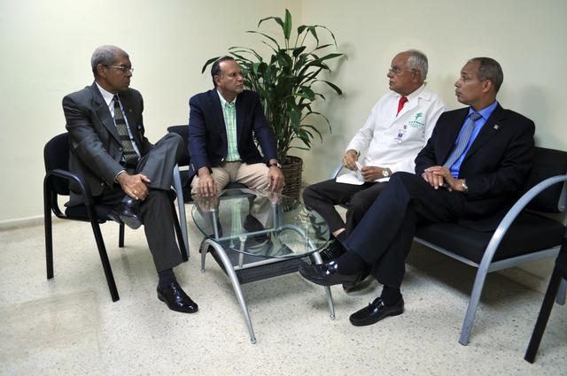 Usan hospital en RD para acto político
