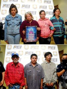 "Sacrificaron tres personas en honor de ""La Santa Muerte"""