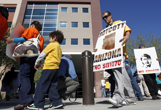 Latinoamérica contra ley de Arizona