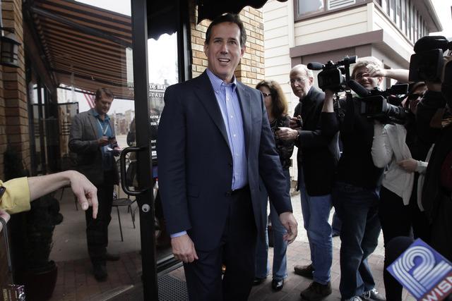 Santorum no se rendirá aunque pierda en Wisconsin