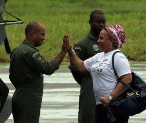 Liberan las FARC a los 10 uniformados