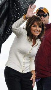Sarah Palin se burla de sí misma en  programa televisivo