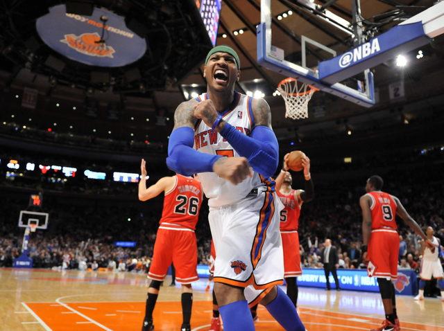 Melo el 'as' en victoria de Knicks