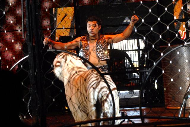 Michael Ramos: Un domador de bestias