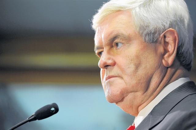 Gingrich ve venir triunfo de Romney