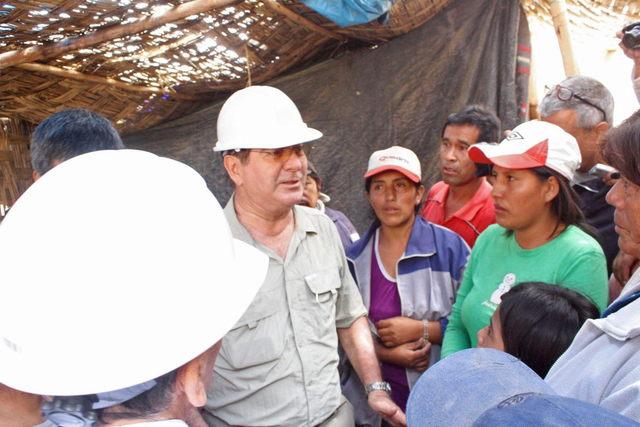 'Esperamos nos rescaten', dicen mineros peruanos