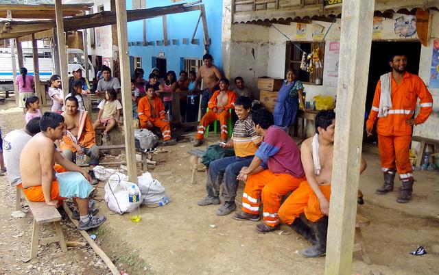 Humala se reúne con  trabajadores liberados