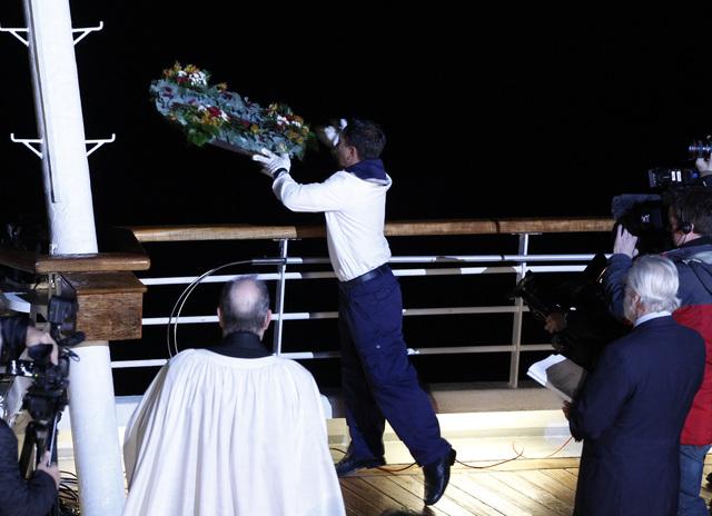 Conmemoran  un siglo de la tragedia del Titanic