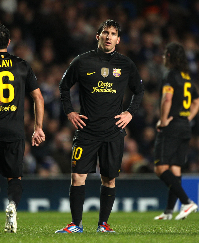 Barcelona choca contra una pared