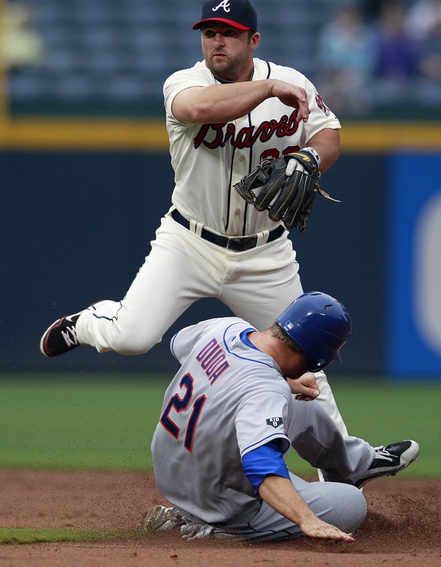 Apaleados los Mets en Atlanta