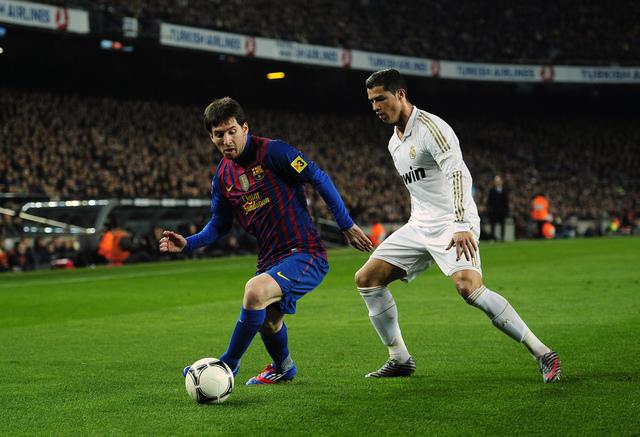 Careo entre dos genios del gol