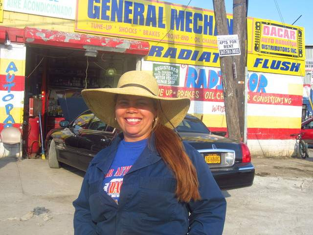 Pasiana Rodríguez, una diosa mecánica