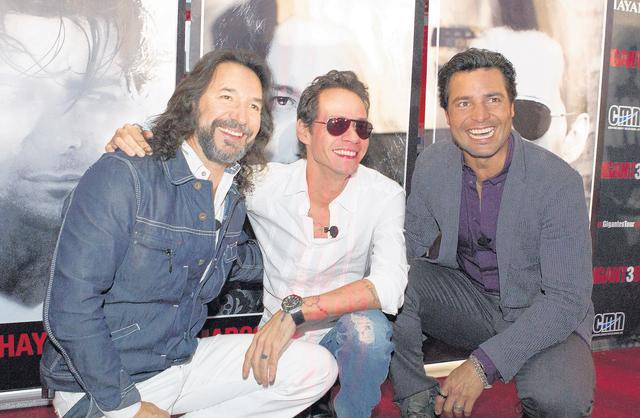 Marc Anthony, El Buki y Chayanne recorrerán juntos los EEUU