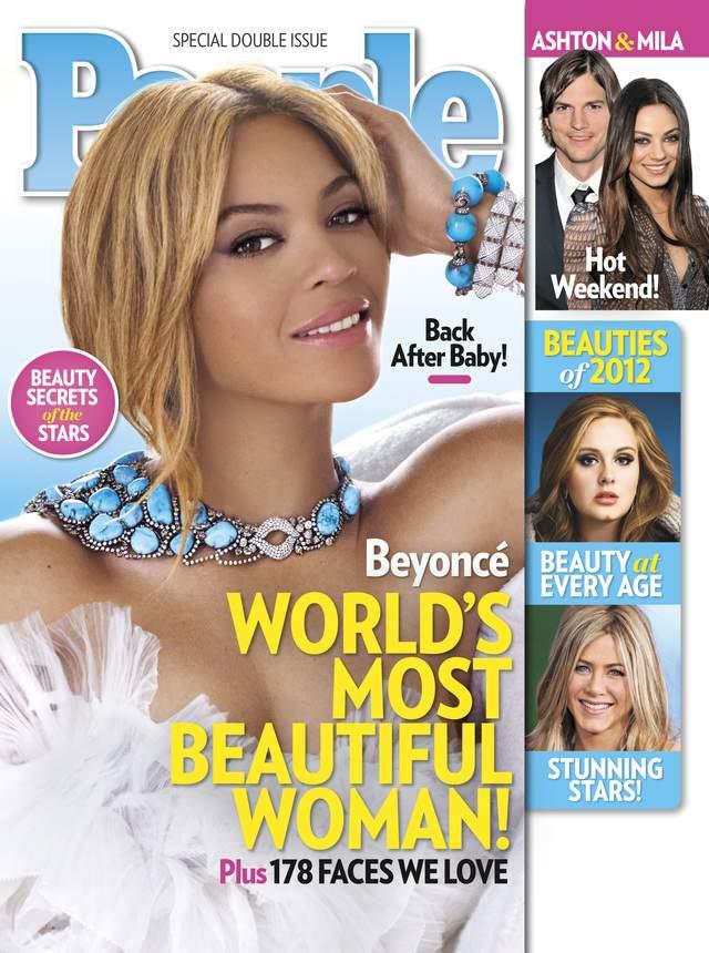 Beyoncé es la mujer más guapa del mundo