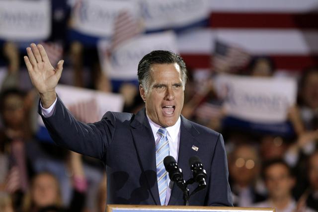 Romney actúa ya como candidato