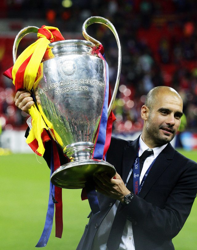 Guardiola deja 'un equipo de leyenda'