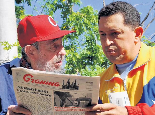 Fidel: 'EE.UU. promueve golpe a Chávez'