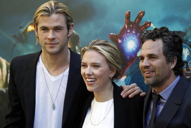 'The Avengers' arrasa en el extranjero