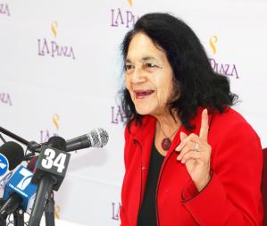 """Dolores Huerta: """"Si podemos juntar nuestras fuerzas, lograremos más poder"""""""