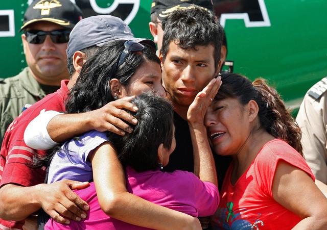 Odisea de policía conmociona a Perú