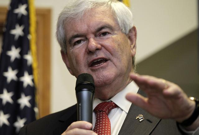Gingrich se despide de sus seguidores