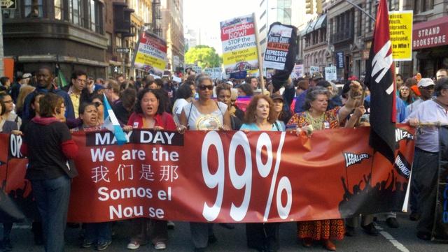 Legalización fue mensaje de protestas