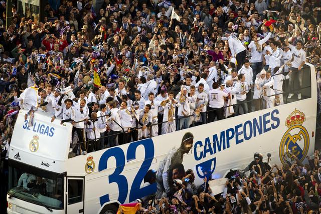 Madrid vibra con el campeón