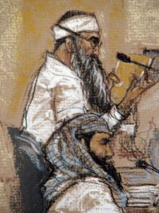 Cómplice de ataques del S/11 grita que lo quieren matar en prisión