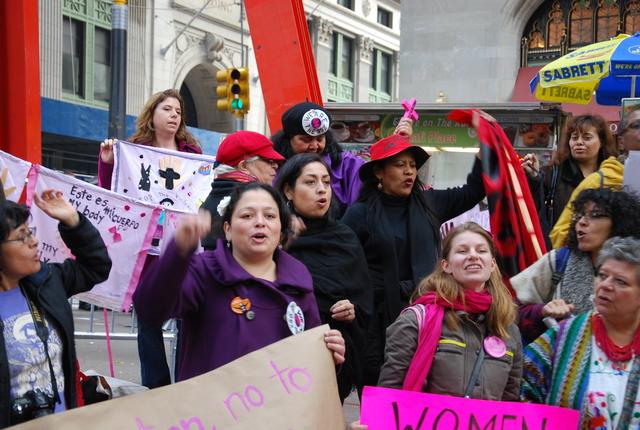 Comunidad mexicana bajo mando femenino