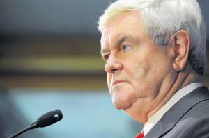 Gingrich se descarta como posible vicepresidente