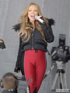 Mariah Carey deja poco a la imaginación