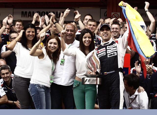 Primer triunfo de venezolano en  F1
