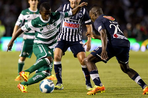 Monterrey empata1-1 con Santos en ida de final