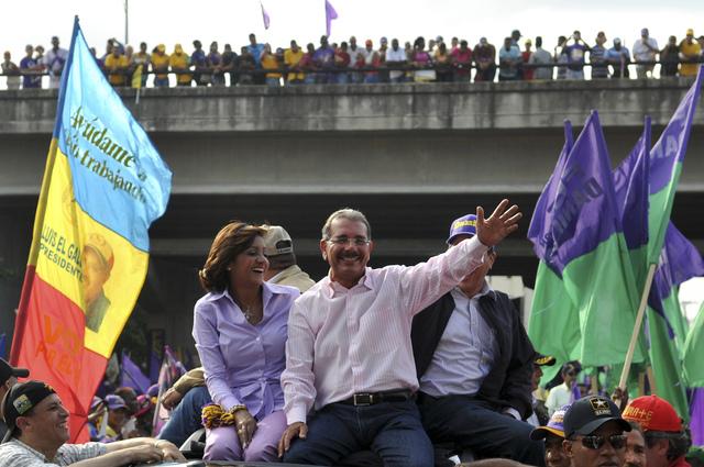 Candidatos cierran campañas  previo a las elecciones en Dominicana