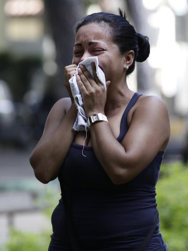 Trasladan a presos amotinados en Caracas