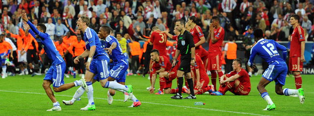Chelsea gana corona europea